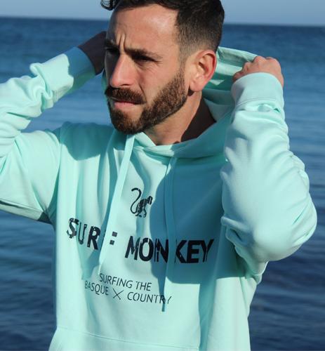 Sudadera capucha Surf Monkey